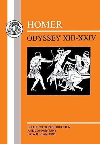 9781853995125: Homer: Odyssey: XIII-XXIV: Bks. 13-24 (Greek Texts)
