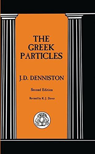 9781853995187: The Greek Particles (Advanced Language S)