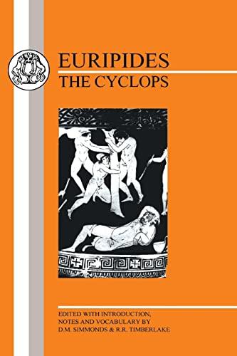 9781853995231: Euripides: Cyclops (Greek Texts)