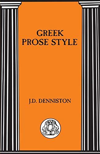 9781853995262: Greek Prose Style (Briston Classical Press Advanced Language)