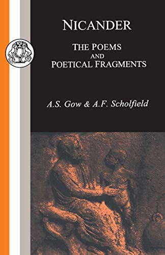 9781853995286: Nicander: The Poems and Poetical Fragments