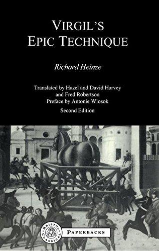 9781853995798: Virgil's Epic Technique (BCP Paperback S.)