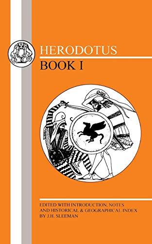9781853996283: Herodotus: Histories I (Greek Texts) (Bk.1)