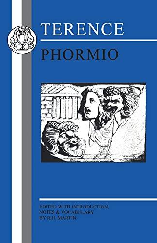 9781853996337: Terence: Phormio (Latin Texts)