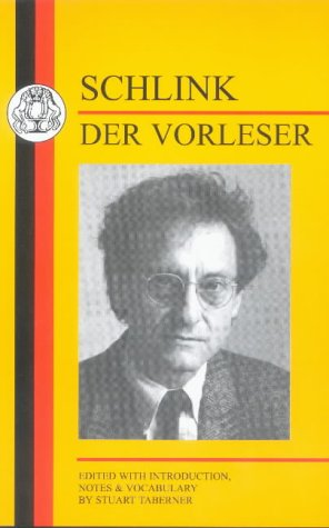 9781853996498: Schlink: Der Vorleser (Duckworth German Text Series)