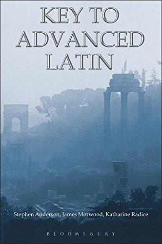 9781853997303: Key to Advanced Latin