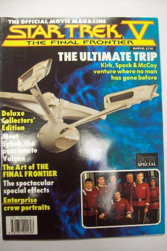 STAR TREK V: THE FINAL FRONTIER THE OFFICIAL MOVIE MAGAZINE(October 1989)
