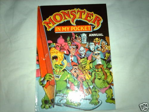 9781854002549: Monster in My Pocket Annual 1992