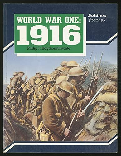 9781854090027: World War I: 1916 (Soldiers Fotofax)