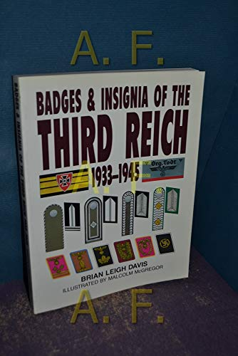 9781854091796: Badges and Insignia of the Third Reich, 1933-45