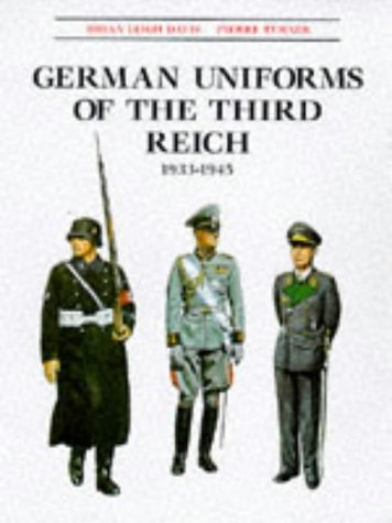 9781854094209: German Uniforms of the Third Reich 1933-1945