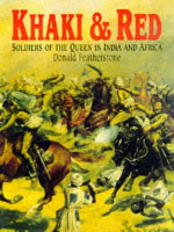 9781854094254: Khaki and Red: Soldiers of the Queen in India and Africa
