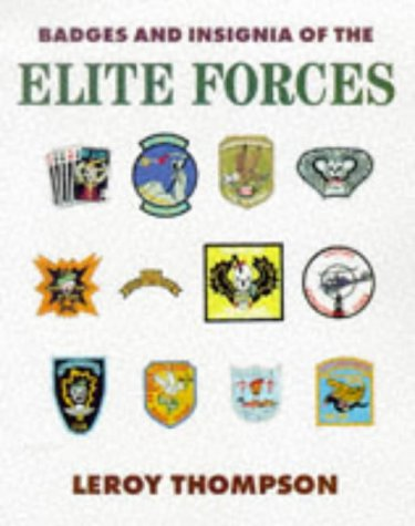 9781854095114: Badges and Insignia of the Elite Forces