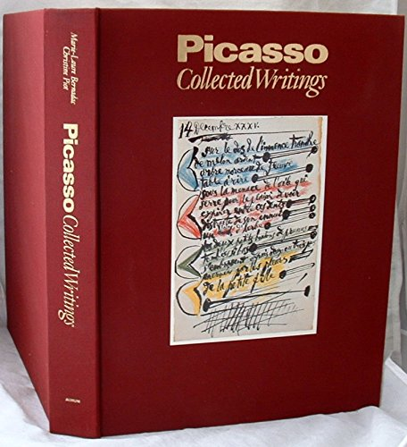 9781854100757: Picasso Ecrits: Collected Writings