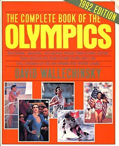 9781854101990: The Complete Book of the Olympics 1992