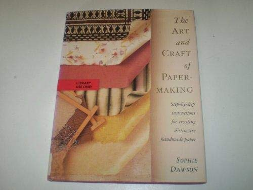 9781854102379: Art and Craft of Papermaking