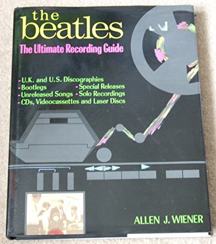 "9781854102508: The ""Beatles"": The Ultimate Recording Guide"