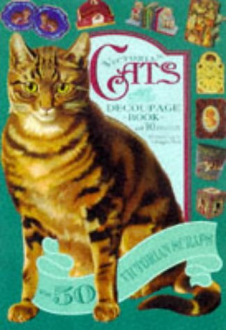9781854104625: Victorian Cats: Decoupage Book with 10 projects