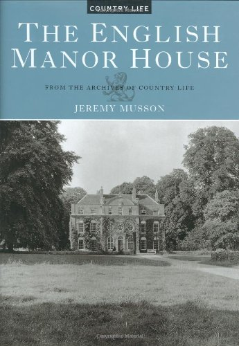 9781854106193: The English Manor House: From the Archives of Country Life