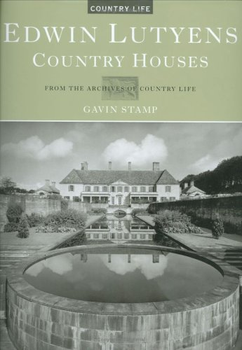 9781854107633: Edwin Lutyens. Country Houses (Country Life)