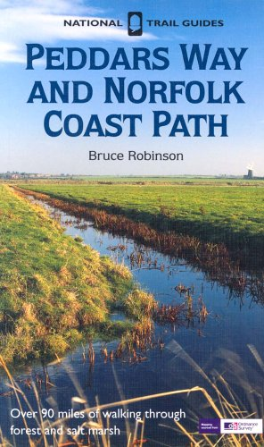 Peddars Way and Norfolk Coast Path (National Trail Guides) (1854108522) by Robinson, Bruce