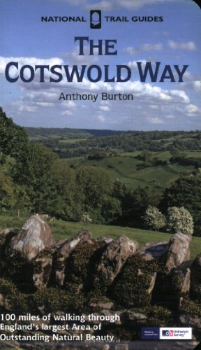 Cotswold Way (National Trail Guides): Anthony Burton