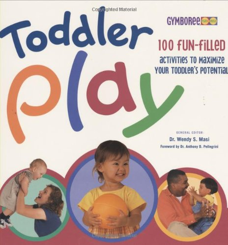 Toddler Play 9781854109514 Children are naturally ready to learn, and parents are eager to teach them. TODDLER PLAY was created specifically to help parents teach their children through age-appropriate play that is fun and relaxed. Based on the content of the successful Gymboree's Play & Music Programs, this book is a  recipe book  of games, finger rhymes, nursery songs, and craft exercises that parents can use to help their children develop physical, cognitive, emotional, and social skills. Filled with fabulous color and fun photos, the book is structured chronologically to match key stages in a child's physical and intellectual development. Written with busy parents in mind, the book contains many quick-reference features, such as a skills checklist, cross-referencing of similar activities, and an index listing games by type of activity, such as art, ball games, discovery games, music and movement exploration, water play, etc. With over 100 activities any toddler will enjoy, quality playtime is just a page away. Check out the great features of TODDLER PLAY: Contains over 100 toddler-tested activities for quality play time. Features exciting, age-appropriate activities, clearly labeled to help parents match activities with the child's abilities. Written for parents of children ages 1 to 3 years. Includes a wide variety of play activities, such as active physical games for strengthening growing muscles or quieter creative games for stimulating the imagination and fostering independence. Developed in consultation with the play experts at Gymboree Play & Music Programs. Contains a helpful glossary of key terms used in child development.