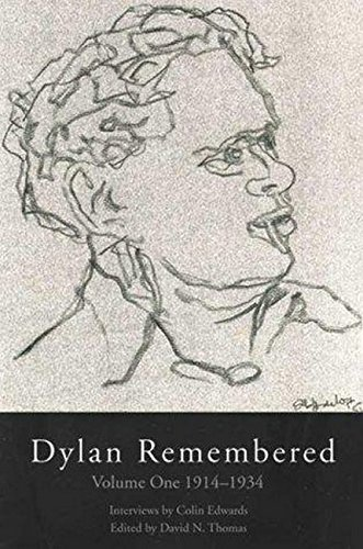 9781854113481: Dylan Remembered: Vol. 1: 1914-1934