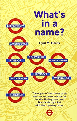 9781854142412: What's in a Name?: Origins of Station Names on the London Underground