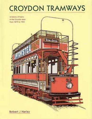 9781854142788: Croydon & South Metropolitan Tramways