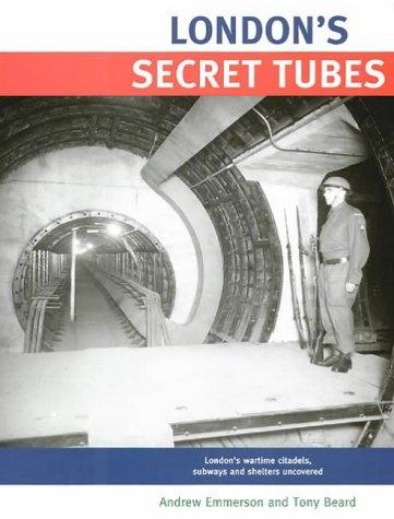 9781854142832: London's Secret Tubes