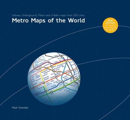 9781854142887: Metro Maps of the World: v. 2 (World Maps)