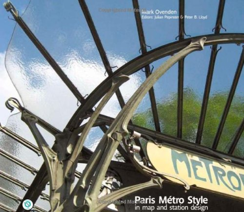 9781854143228: Paris Metro Style: In Map and Station Design