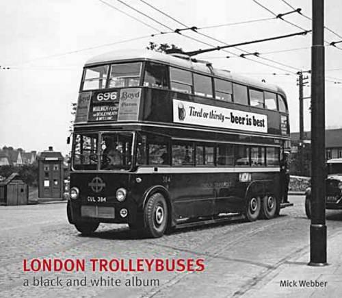 9781854143334: London Trolleybuses (Black & White Album)