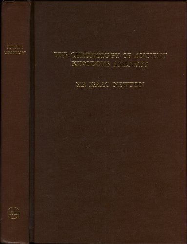 9781854170002: The Chronology of Ancient Kingdoms Amended