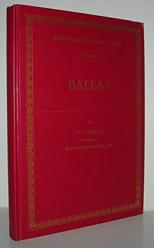 9781854170330: Ballas (Egyptian Research Account, 1)