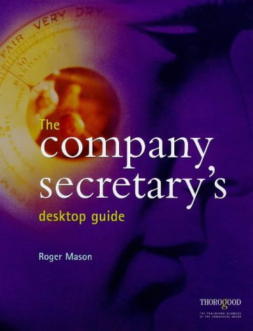 9781854181268: The Company Secretary's Desktop Guide