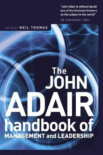9781854182043: John Adair: The Handbook of Management and Leadership