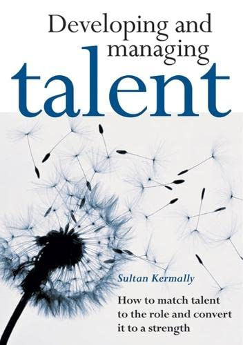 9781854182296: Developing and Managing Talent