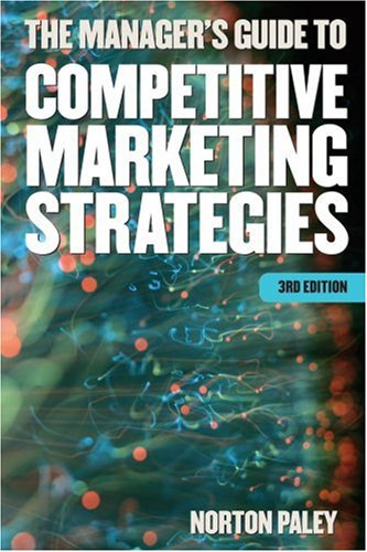 9781854183651: The Manager's Guide to Competitive Marketing Strategies