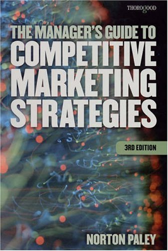 9781854183705: The Managers Guide to Competitive Marketing Strategies