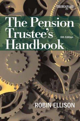 9781854186096: The Pension Trustee's Handbook