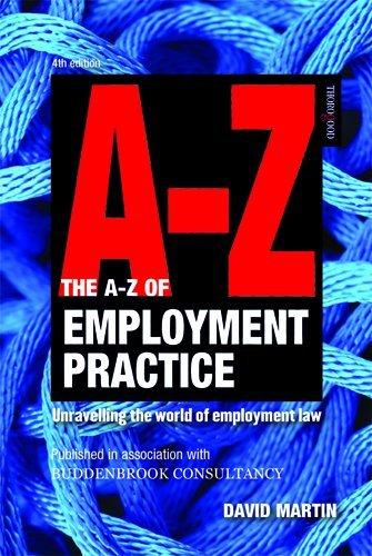 9781854186744: A-Z Employment Practice