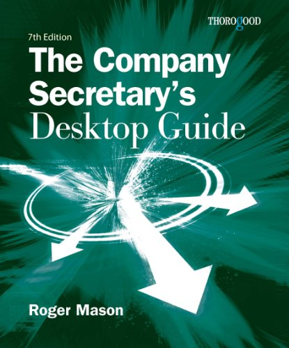 9781854187161: The Company Secretary's Desktop Guide
