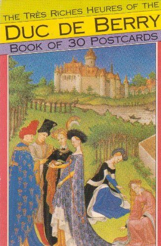 9781854221421: The Tres Riches Heures of the Duc De Berry: Book of 30 Postcards