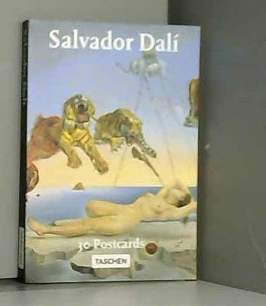 9781854222145: Salvador Dali: Book of 30 Postcards