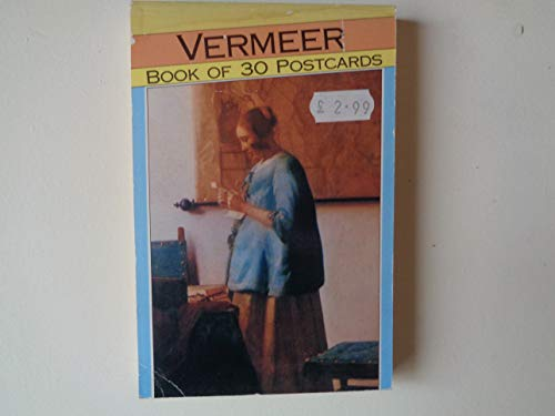 9781854223364: Vermeer Book of 30 Postcards