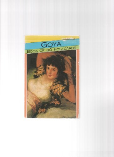 9781854223593: Goya Postcard Book