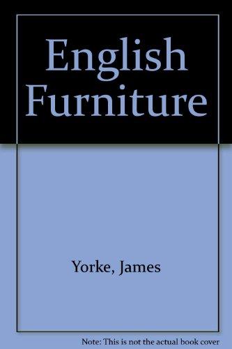 9781854223913: English Furniture