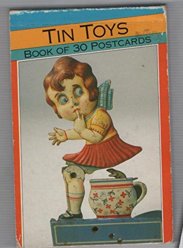 Tin Toys; Book of 30 Postcards